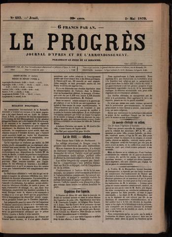 Le Progrès (1841-1914) 1879-05-01