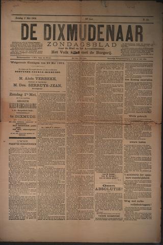 De Dixmudenaar 1904