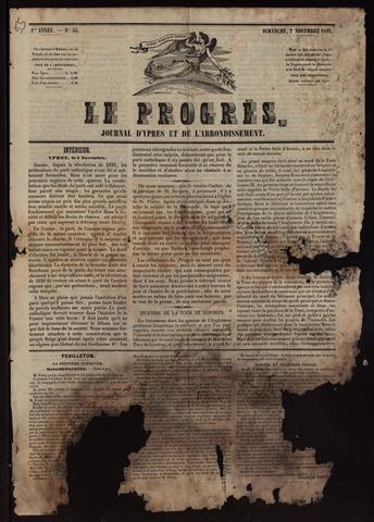 Le Progrès (1841-1914) 1841-11-07