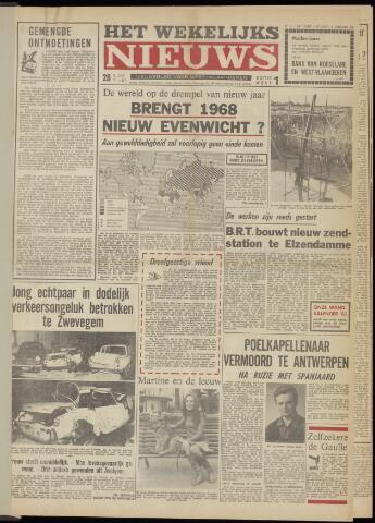 Het Wekelijks Nieuws (1946-1990) 1968