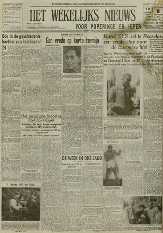 Het Wekelijks Nieuws (1946-1990) 1951-09-08