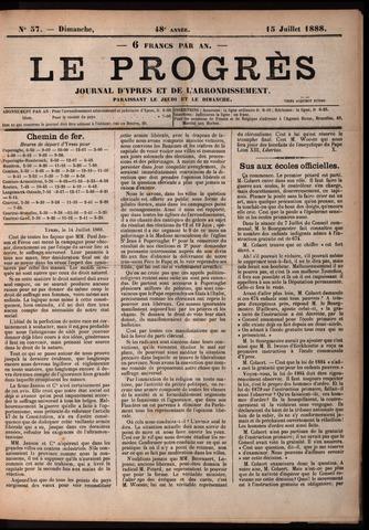 Le Progrès (1841-1914) 1888-07-15