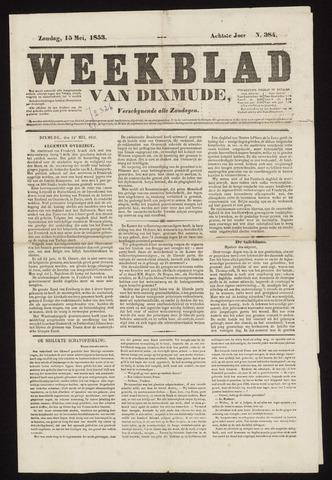 Weekblad van Dixmude 1853