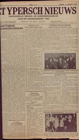 Het Ypersch nieuws (1929-1971) 1967-01-13