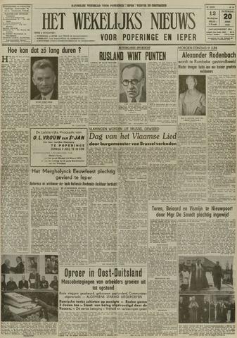 Het Wekelijks Nieuws (1946-1990) 1953-06-20