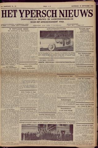 Het Ypersch nieuws (1929-1971) 1963-09-28