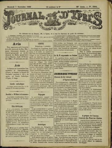 Journal d'Ypres (1874 - 1913) 1900-11-07