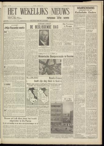 Het Wekelijks Nieuws (1946-1990) 1954-07-24