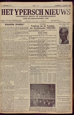 Het Ypersch nieuws (1929-1971) 1963-01-19