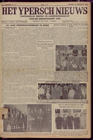 Het Ypersch nieuws (1929-1971) 1967-08-18