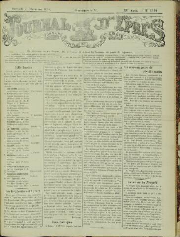 Journal d'Ypres (1874 - 1913) 1898-12-07