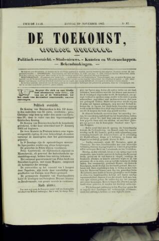 De Toekomst (1862 - 1894) 1863-11-22