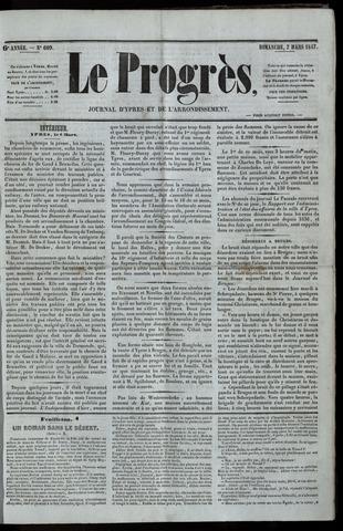 Le Progrès (1841-1914) 1847-03-07