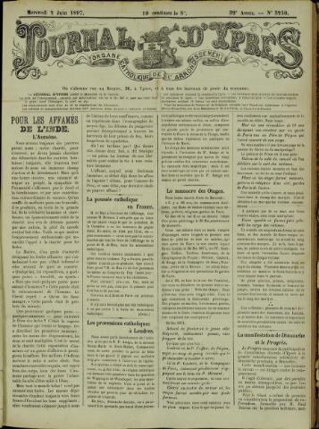 Journal d'Ypres (1874 - 1913) 1897-06-02