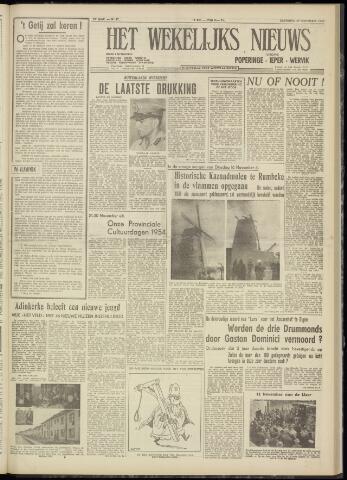 Het Wekelijks Nieuws (1946-1990) 1954-11-20
