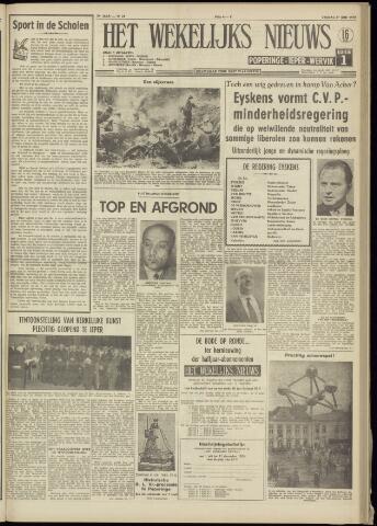 Het Wekelijks Nieuws (1946-1990) 1958-06-27