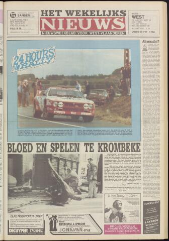 Het Wekelijks Nieuws (1946-1990) 1985-06-28
