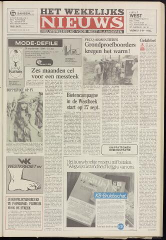 Het Wekelijks Nieuws (1946-1990) 1984-09-21
