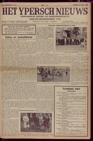 Het Ypersch nieuws (1929-1971) 1967-07-28
