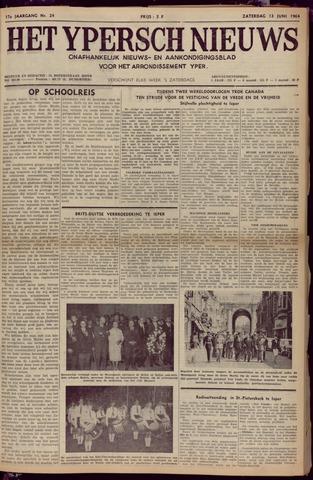Het Ypersch nieuws (1929-1971) 1964-06-13