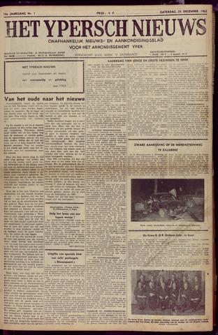 Het Ypersch nieuws (1929-1971) 1962-12-29