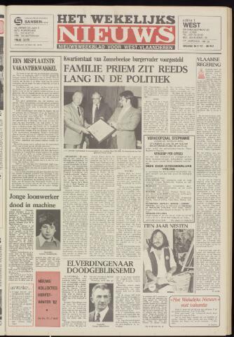 Het Wekelijks Nieuws (1946-1990) 1982-07-16