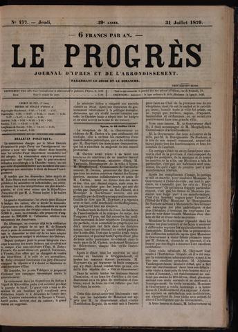 Le Progrès (1841-1914) 1879-07-31