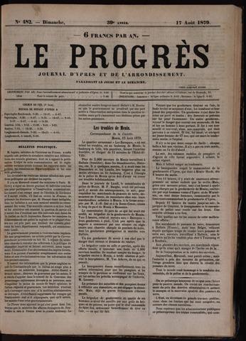 Le Progrès (1841-1914) 1879-08-17