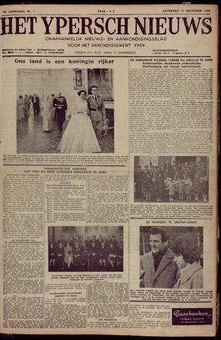 Het Ypersch nieuws (1929-1971) 1960-12-17