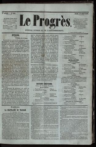 Le Progrès (1841-1914) 1847-08-19