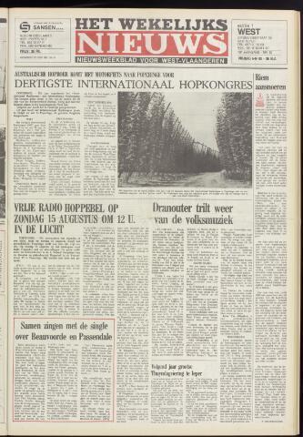 Het Wekelijks Nieuws (1946-1990) 1982-08-06