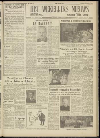 Het Wekelijks Nieuws (1946-1990) 1954-11-06