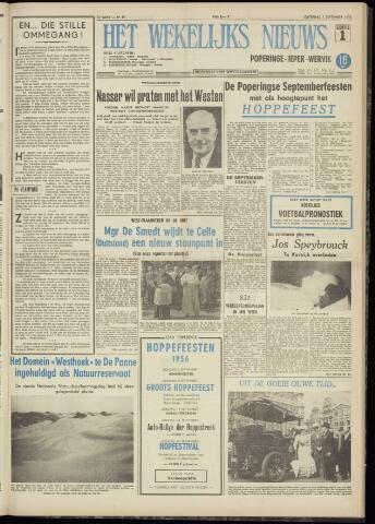 Het Wekelijks Nieuws (1946-1990) 1956-09-01