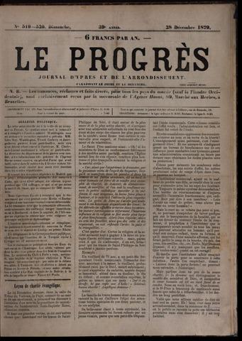 Le Progrès (1841-1914) 1879-12-28
