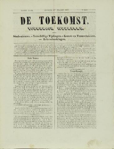 De Toekomst (1862 - 1894) 1867-03-17