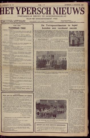 Het Ypersch nieuws (1929-1971) 1960-08-06