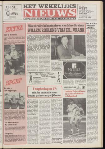 Het Wekelijks Nieuws (1946-1990) 1987-09-11