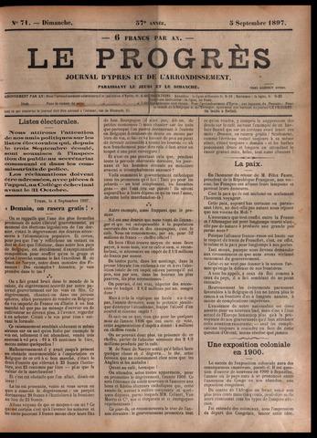 Le Progrès (1841-1914) 1897-09-05