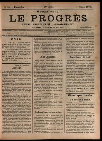 Le Progrès (1841-1914) 1897-06-06