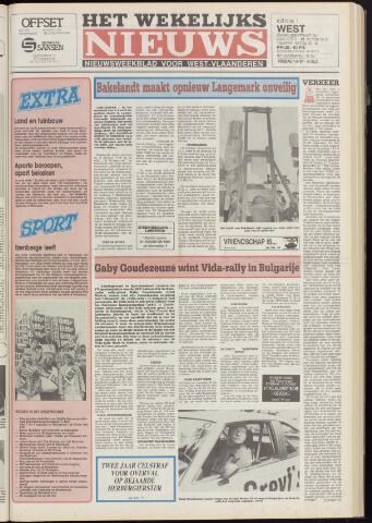 Het Wekelijks Nieuws (1946-1990) 1987-08-07