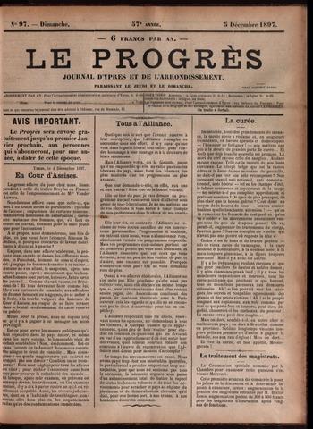 Le Progrès (1841-1914) 1897-12-05