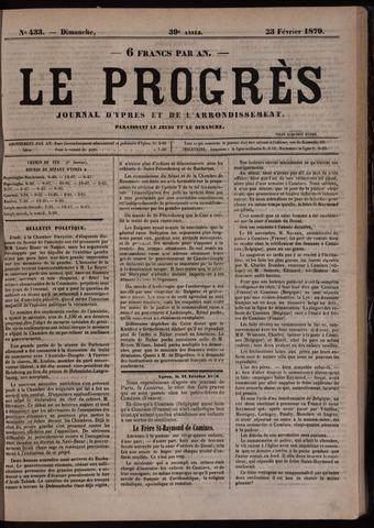 Le Progrès (1841-1914) 1879-02-23
