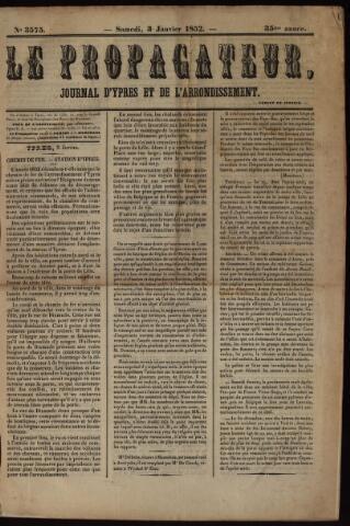 Le Propagateur (1818-1871) 1852