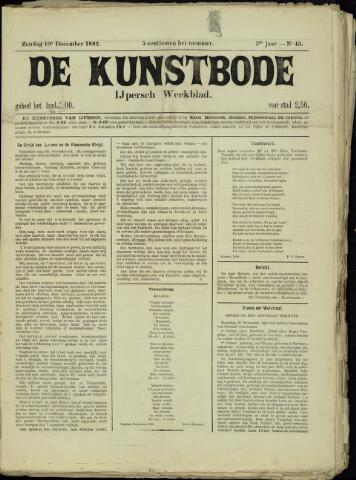 De Kunstbode (1880 - 1883) 1882-12-10