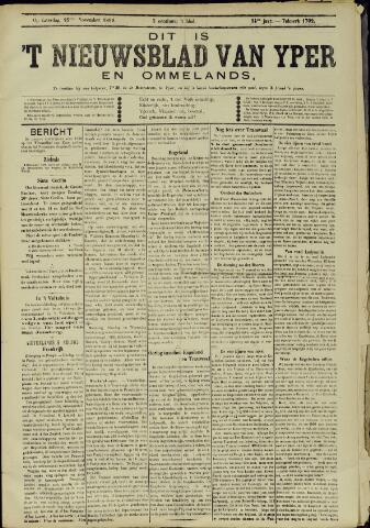 Nieuwsblad van Yperen en van het Arrondissement (1872 - 1912) 1899-11-25