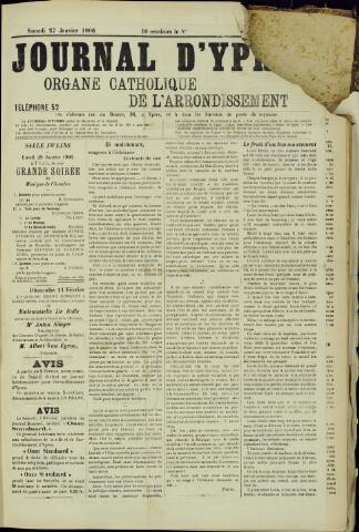 Journal d'Ypres (1874 - 1913) 1906-01-27