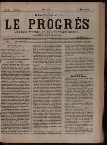 Le Progrès (1841-1914) 1879-05-22