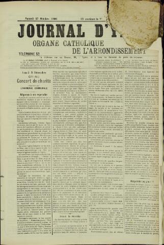 Journal d'Ypres (1874 - 1913) 1906-10-25
