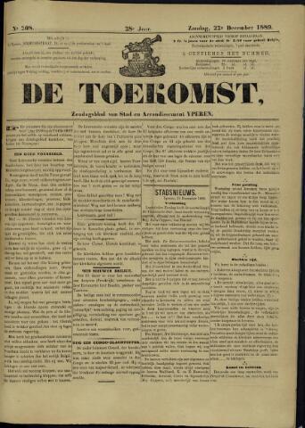 De Toekomst (1862 - 1894) 1889-12-22