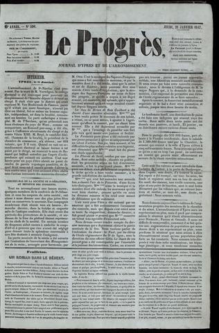 Le Progrès (1841-1914) 1847-01-21